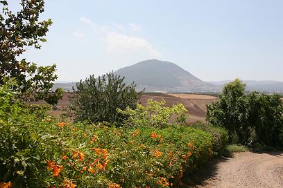 הנוף בכפר קיש (צילום: מוטי בוהדנה)