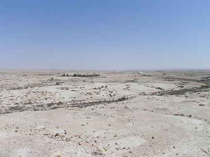 """אזור ניצנה, סמוך לכמהין. """"לא קל לגור, אבל יש קהילה"""" (צילום: זיו ריינשטיין)"""