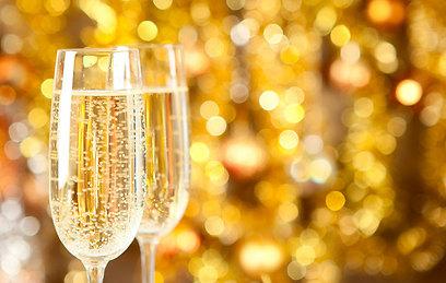 מחכים לדצמבר בזכותם. יינות מבעבעים (צילום: shutterstock) (צילום: shutterstock)