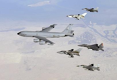 """ה-KC-135. """"טס כמו אלוף"""" (צילום: gettyimages) (צילום: gettyimages)"""