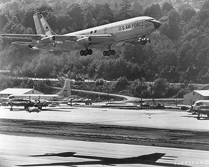 "ה-KC-135 סטרטוטנקר. ""שטח לא נודע"" (צילום: gettyimages) (צילום: gettyimages)"