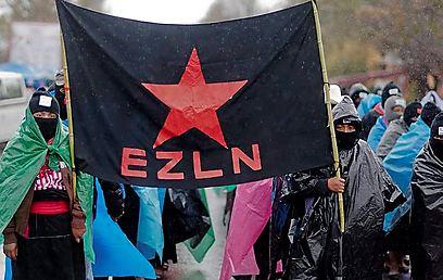 EZLN march in Chiapas (Photo: AFP)