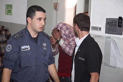 החשוד יישלח לבדיקות דם. בהארכת המעצר (צילום: מוטי קמחי) (צילום: מוטי קמחי)