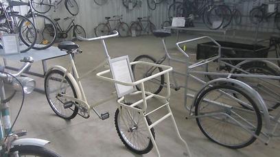 """אופניים מימי """"אסקימו לימון"""" (צילום: עזרא שהרבני, בייקפאנל) (צילום: עזרא שהרבני, בייקפאנל)"""