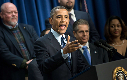President Obama. Didn't even bother getting angry (Photo: AFP)