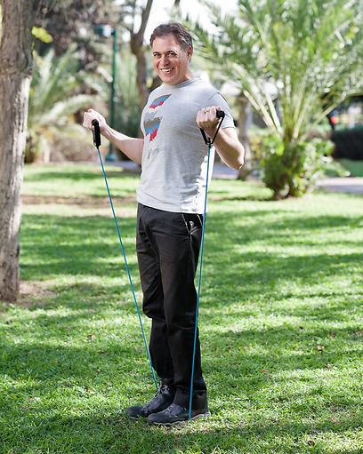לא להיכנס למשטר אימונים מטורף. יצחק רינסקי (צילום: גבריאל בהרליה) (צילום: גבריאל בהרליה)