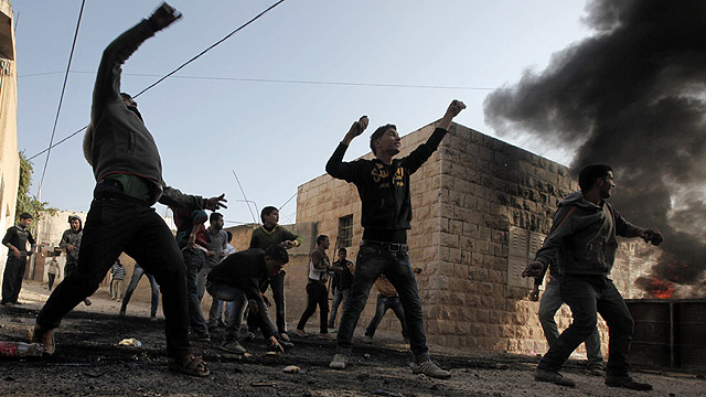 Riots in Jenin, January 2013 (Photo: AFP) (Photo: AFP)