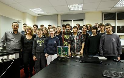 תלמידי תיכון הנדסאים (צילום: נמרוד גליקמן) (צילום: נמרוד גליקמן)
