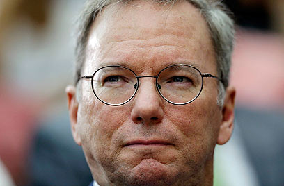 Google's Executive Chairman Eric Schmidt (Photo: AP) (Photo: AP)