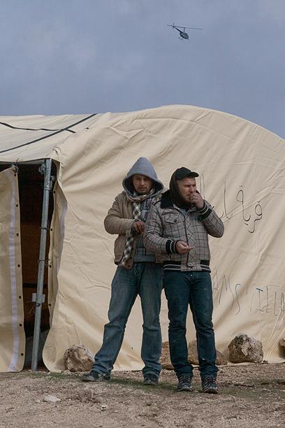 """""""מקווים שהאוהל יהפוך לאוהל קבע"""" (צילום: אוהד צויגנברג) (צילום: אוהד צויגנברג)"""
