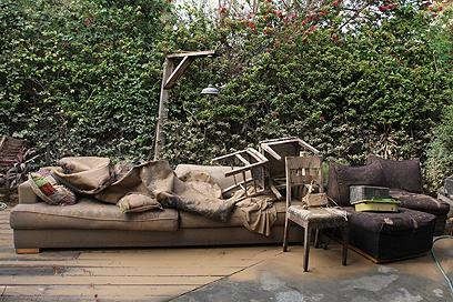 נזקי הסערה בשנה שעברה (צילום: עידו ארז) (צילום: עידו ארז)