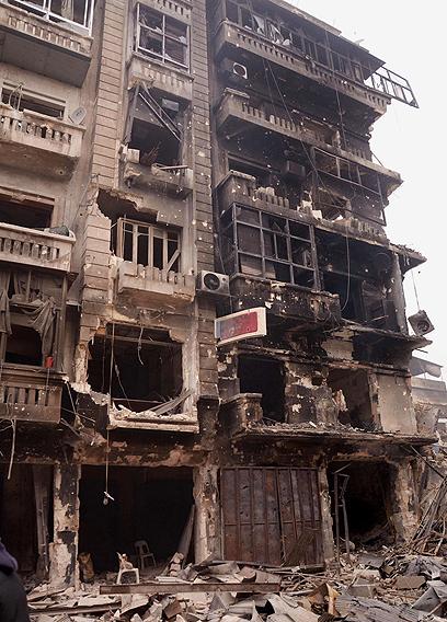Devastation in Aleppo, Syria (Photo: EPA)