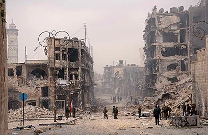 Devastation in Aleppo (Photo: Reuters)