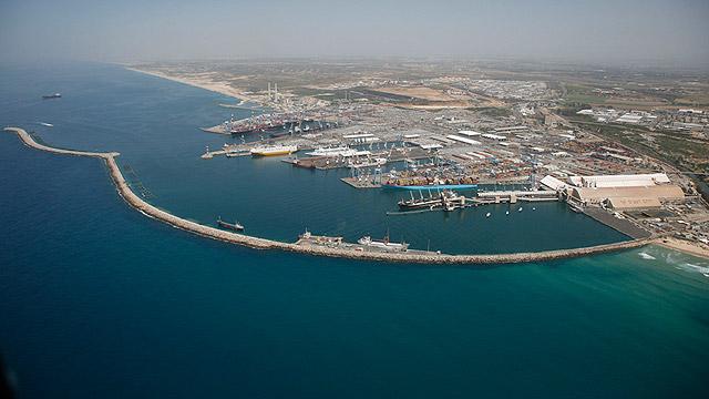 """ישראל היא מדינת אי"". נמל אשדוד (צילום: אילן ארד) (צילום: אילן ארד)"