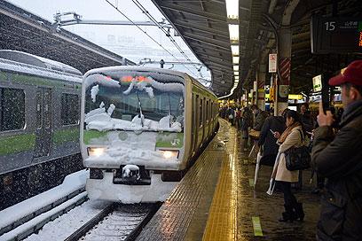 שיבושים בתנועת הרכבות (צילום: EPA)