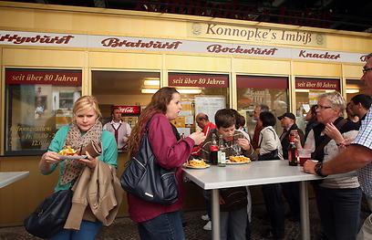 """ברלינאיים לא ישלמו 10 אירו על המבורגר. """"קונופקס"""" (צילום: Gettyimages) (צילום: Gettyimages)"""