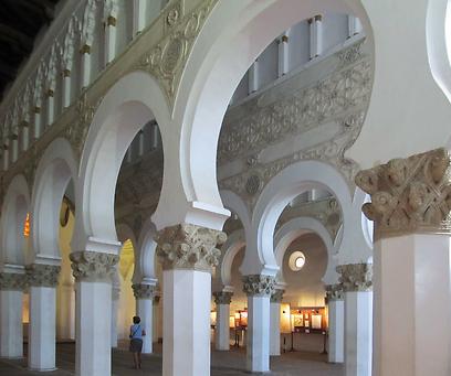 """ביה""""כ דוגמה לסגנון המודחאר. הפך לכנסיית מריה לה בלנקה לאחר הגירוש (צילום: שלמה צדקיהו, טבע הדברים) (צילום: שלמה צדקיהו, טבע הדברים)"""