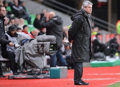 """""""מליקסון מתאים לשיטה שלי"""". המאמן דניאל סאנצ'ס (צילום: AFP) (צילום: AFP)"""