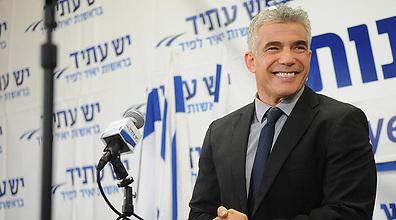 Yair Lapid (Photo: Yaron Brener)