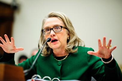הילרי קלינטון. סדקים במועמדות לנשיאות (צילום: EPA) (צילום: EPA)