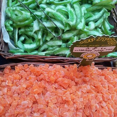 קליית יוסי. פאפאיה מתאילנד, פומלה מישראל ()