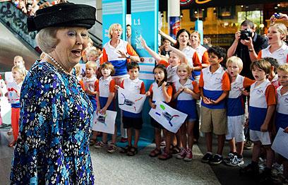 ביום חמישי תחגוג את יום הולדתה ה-75. המלכה ביאטריקס (צילום: EPA) (צילום: EPA)