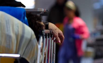 המיון בבית החולים שיבא. איך הגענו לסף תהום?  (צילום: אמיר לוי) (צילום: אמיר לוי)