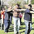 """רוקדים ב""""עמקים תבור"""". """"לא על חשבון שיעור"""" צילום: פלג איטח"""