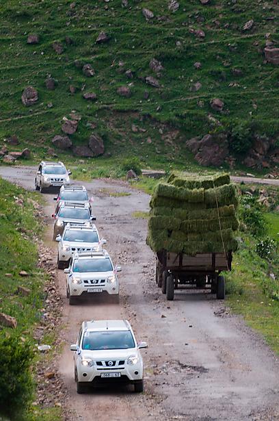 מסע אל דרך המשי (צילום: איה בן עזרי) (צילום: איה בן עזרי)