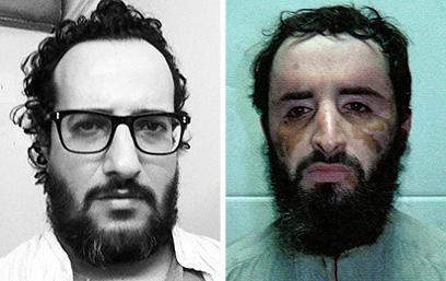 מצאו את ההבדלים: אבו פראג' אל-ליבי ויואב לוי (צילום: רויטרס) (צילום: רויטרס)