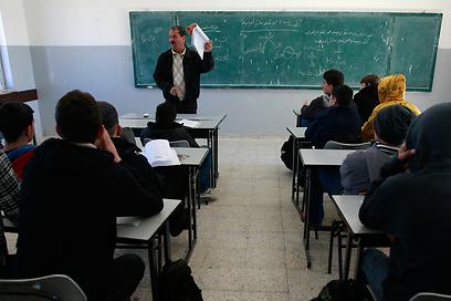 ועדה מדעית מייעצת בדקה את הממצאים. שיעור בבית ספר ברמאללה (צילום: AP) (צילום: AP)
