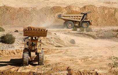 לצמצם נזק סביבתי. מחצבה בנחל סכר  (צילום: באדיבות הקרן לשיקום מחצבות) (צילום: באדיבות הקרן לשיקום מחצבות)