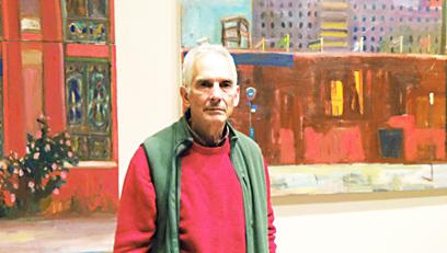 """""""הלבנים בניו-יורק, נותנות לי אפשרות לצייר ציורים שלמים באדום"""". קובנר ()"""