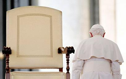 ייתקל ביורשו. האפיפיור בנדיקטוס ה-16. ארכיון (צילום: AP) (צילום: AP)