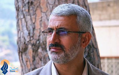 חסן שאטרי. שימש כמפקד משמרות המהפכה בלבנון  (צילום מסך מתוך mashreghnews.ir) (צילום מסך מתוך mashreghnews.ir)