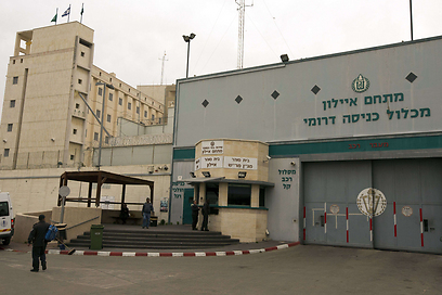 The Ayalon Prison. Three doors led to Zygier's isolated cell (Photo: AFP)