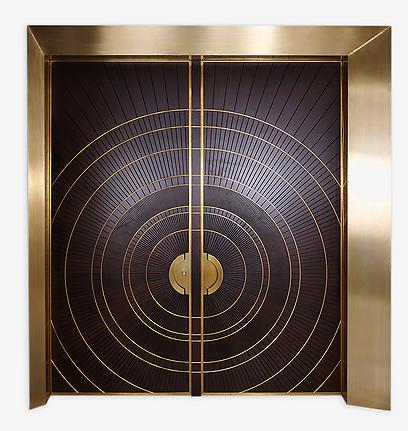 דלת כניסה זוגית - שומרת על הגבולות של בני הזוג (צילום: באדיבות רשפים) (צילום: באדיבות רשפים)