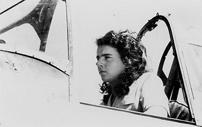 """הטייסת זהרה לביטוב (צילום: באדיבות אתר אוצר הפלמ""""ח)"""