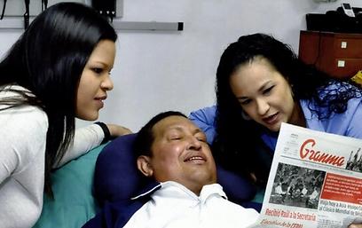 העיתון מוכיח שהתמונה חדשה (AFP) (AFP)