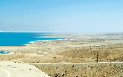 ים המלח. הסובל העיקרי מהתקופות השחונות בכנרת ומחסימת סכר דגניה (צילום: אודי רן, טבע הדברים) (צילום: אודי רן, טבע הדברים)