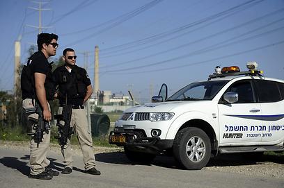 הרקטה נחתה בשטח פתוח (צילום: AFP) (צילום: AFP)