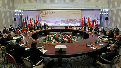 Iran meets with P5+1 countries for nuclear talks (Photo: AP)
