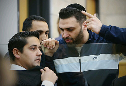 הנאשם המרכזי, שמעון אלקבץ (צילום: חגי אהרון) (צילום: חגי אהרון)