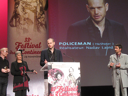 נדב לפיד מקבל עוד פרס בנאנט. הצלחה בינלאומית אדירה (צילום: נעמה פרייס) (צילום: נעמה פרייס)