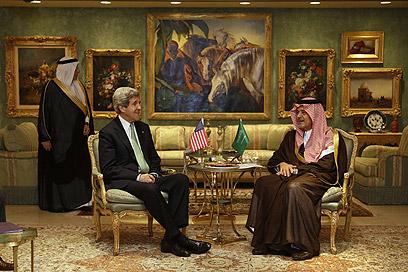 US Secretary of State John Kerry in Riyadh (Photo: AFP)