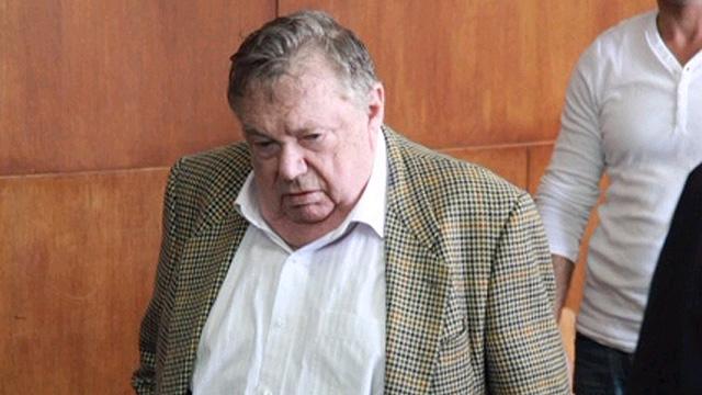 דכנר בבית המשפט, מעט לפני מותו (צילום: מוטי קמחי) (צילום: מוטי קמחי)