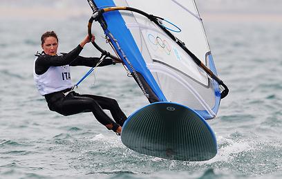 אלסנדרה סנסיני. קורזיץ השתוותה אליה במספר מדליות הזהב באליפויות עולם (צילום: GettyImages) (צילום: GettyImages)