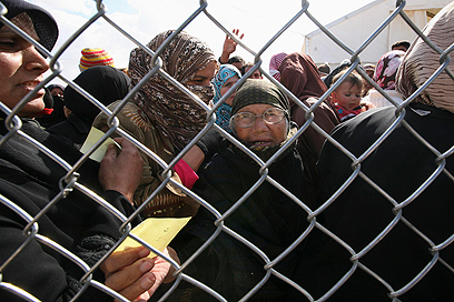 פליטים חדשים במחנה זעתרי בירדן (צילום: רויטרס) (צילום: רויטרס)