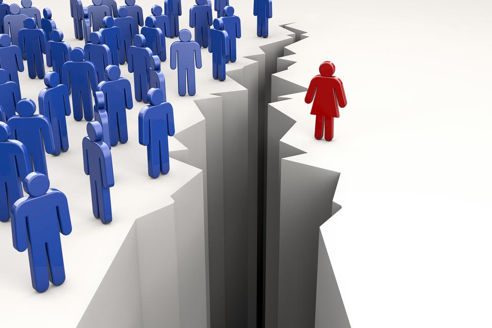 שיעור זניח של נשים בצמרת הניהולית (צילום: shutterstock) (צילום: shutterstock)