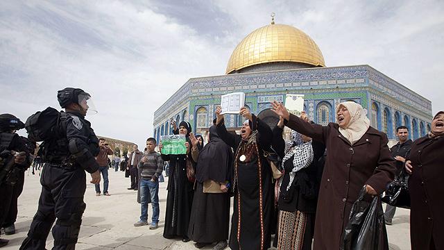 Temple Mount (Archive photo: AFP)